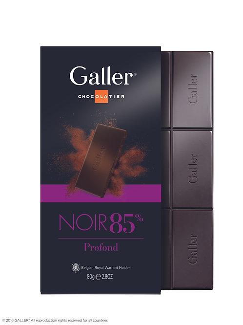 Galler Tablet Dark 85% 80g