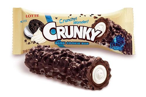 Lotte Crunky Bar Dark Cookie 10x33g