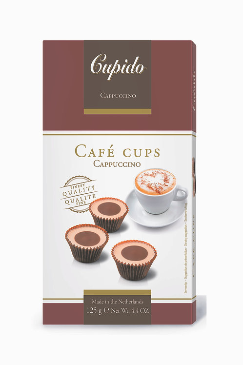Cupido Ice Cups Cappuccino125g
