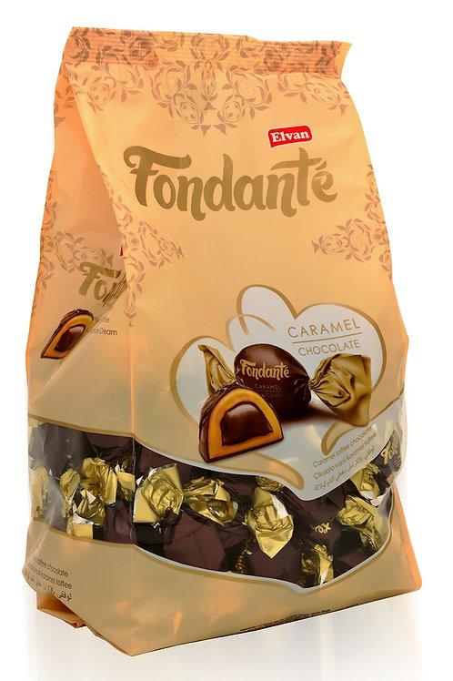 Fondante Milk Chocolate with Chocolate (Brown) 200g