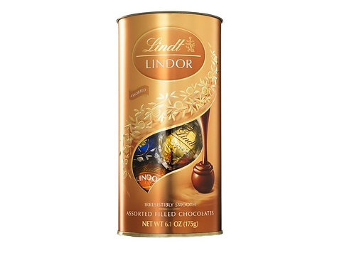 Lindt Lindor Mini Tube Assorted 175g