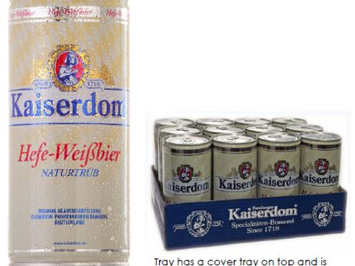 (BEER) Kaiserdom Hefe-Weisbier 1L