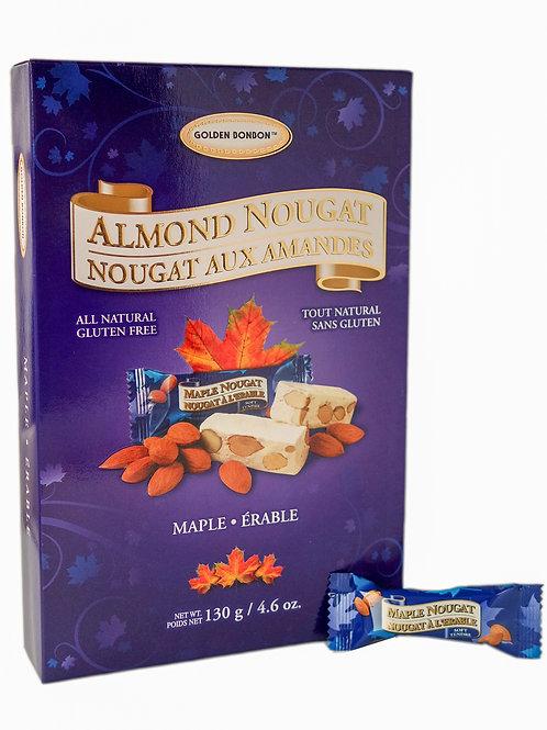 GBB Soft Almond Nougat - Maple Giftbox 130g