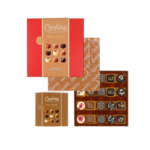 Guylian Master's Selection Giftbox (Gold or Red)  134g