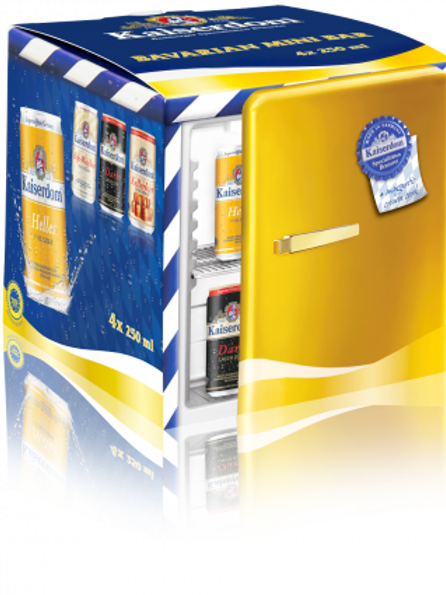 (BEER) Kaiserdom Mini Bar Set 4 Flavours 250ml