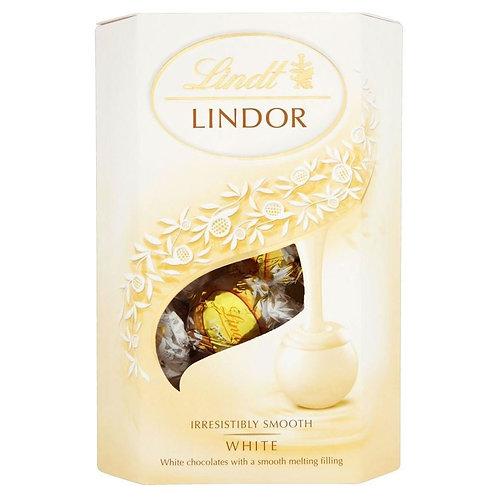Lindt Lindor Cornet White 200g