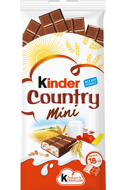 Kinder Mini Country T18  96g