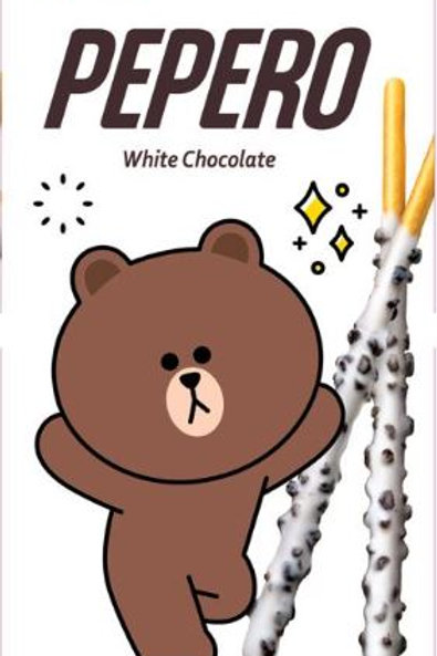 Lotte White Cookie Pepero Small Pack 32g