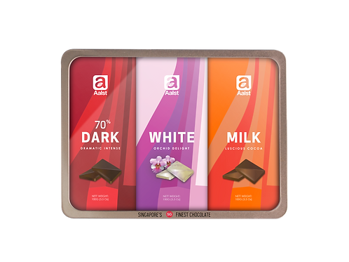 Aalst Orchid Collection (70%, Milk, Orchid) Bars 300g