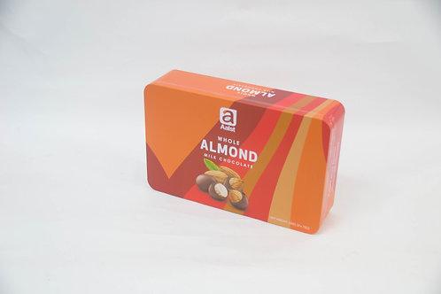 Aalst Whole Almond Milk Chocolate Tin 225g