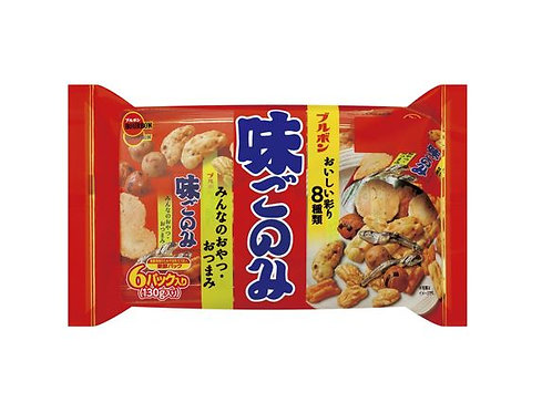 Bourbon Aji Gonomi Family rice Cracker 130g