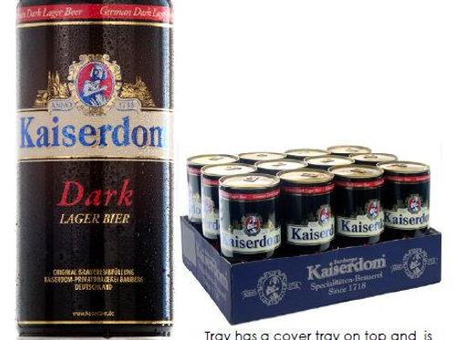 (BEER) Kaiserdom Dark Lager Bier 1L