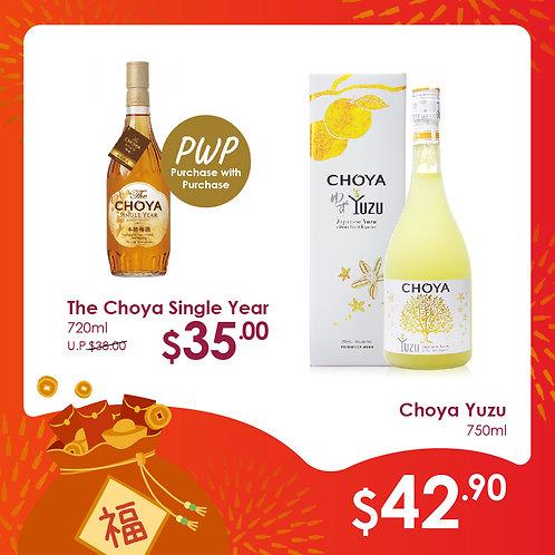 Buy Choya Yuzu 750ml + TOP UP Options