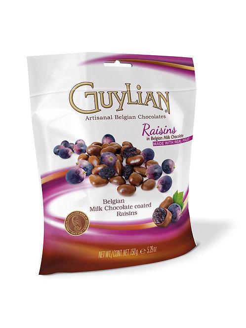 Guylian Milk Chocolate Coated Raisins 150g