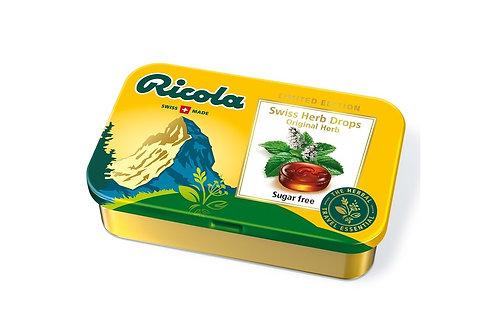 Ricola Original Herb Sugarfree Herb Drops 75g