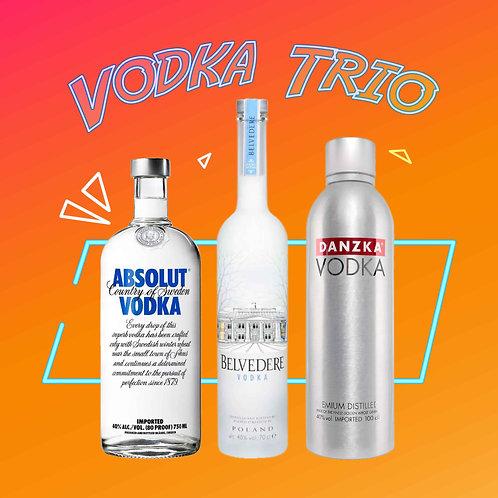 Vodka Trio - Buy Vodka bundle and save 15%