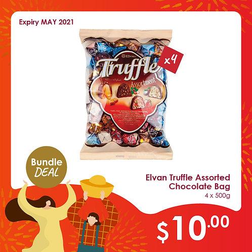 Elvan Truffle Chocolate bag 4 for $10