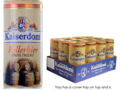 (BEER) Kaiserdom Kellerbier 1L