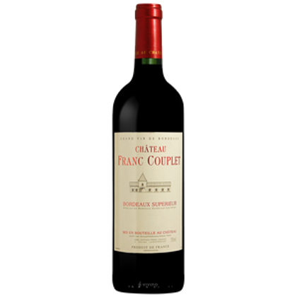 Chateau Franc Couplet (Red) 2015 750ml