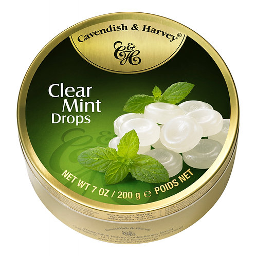 C&H Clear Mint Drops 200g