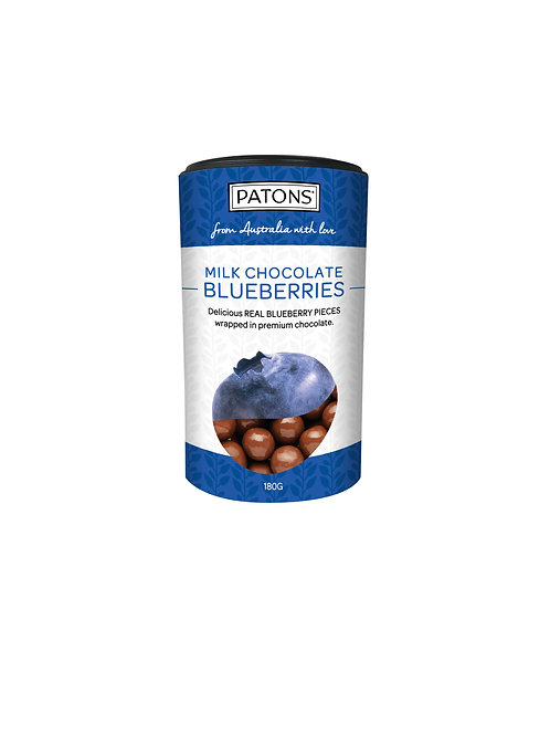 Patons Milk Chocolate Blueberries Canister 180g