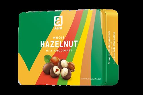 Aalst Whole Hazelnut Milk Chocolate Tin 300g