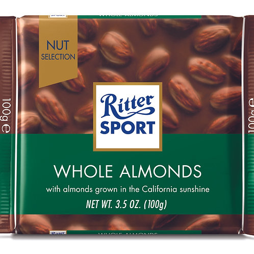 Ritter Sport Whole Almond 100g