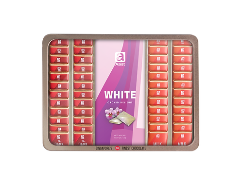 Aalst Orchid Collection Chocolate Bar & Neapolitans 340g