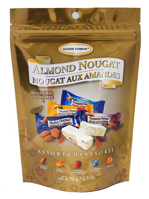 GBB Almond Nougat - Assorted 70g
