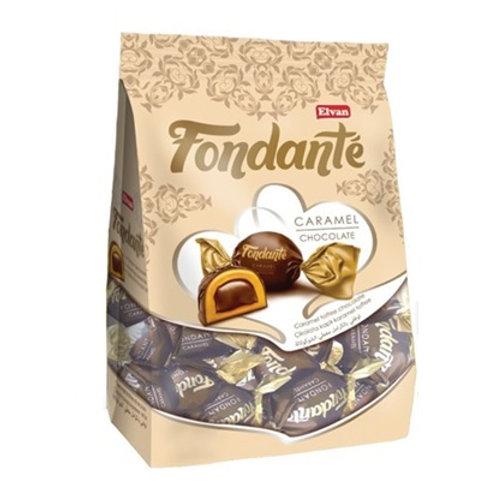 Fondante Caramel Chocolate Bag (Brown) 500g