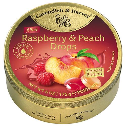C&H Fruit Drops 175g (Sour Cherry/Coffee/Rasberry & Peach