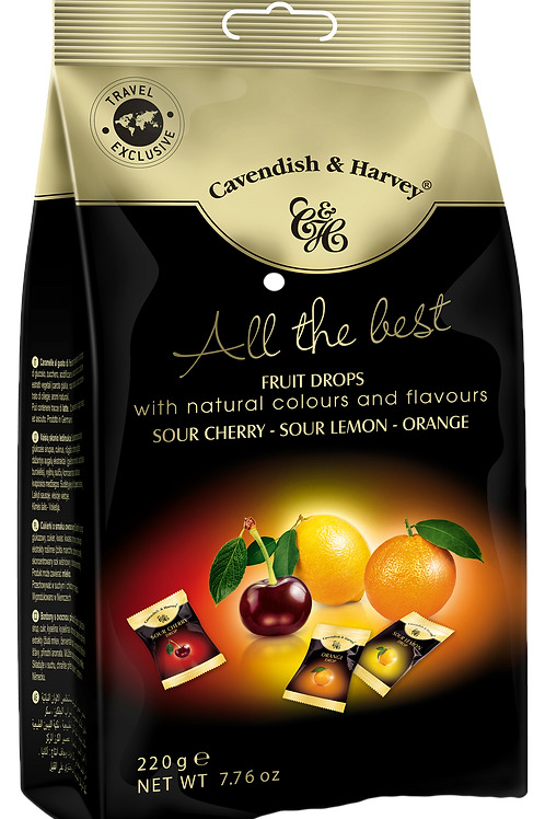 C&H All the Best Fruit Drops 220g