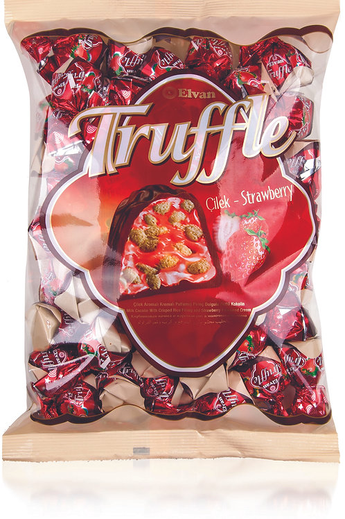 Elvan Truffle Bag Strawberry 500g