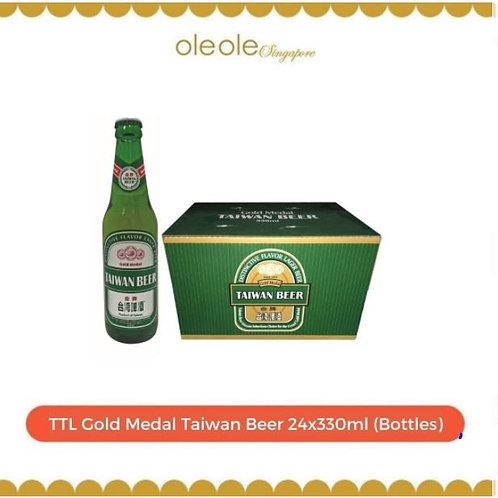 TTL Gold Medal Taiwan Beer 24x330ml