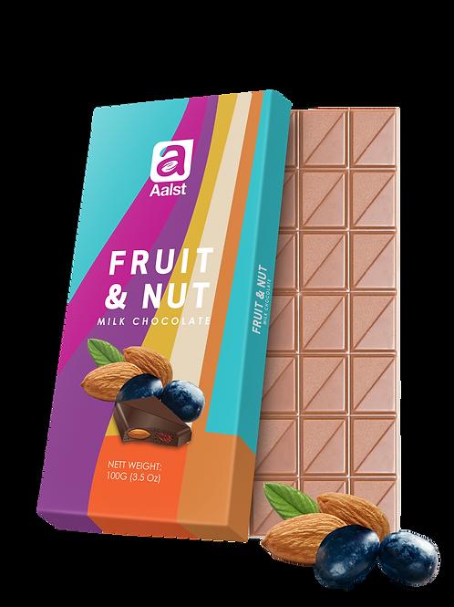 Aalst Fruit & Nut Milk Chocolate Bar 100g