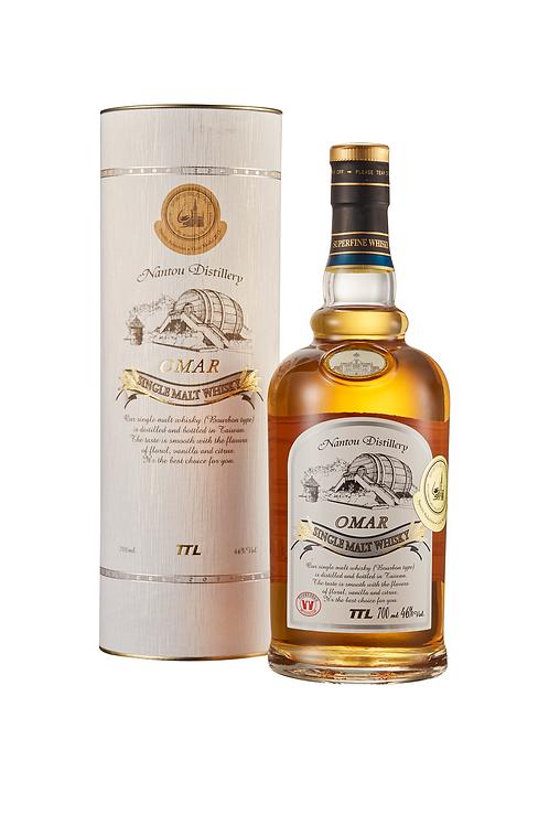 TTL Omar Whisky (Bourbon) 700ml, Alc. 46%