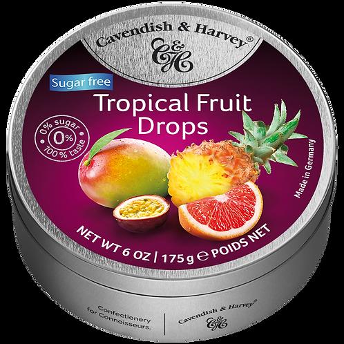 C&H Sugar Free Tropical Fruit Drops 175g