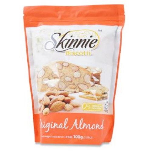 Skinnie Biscotti Original Almond 100g