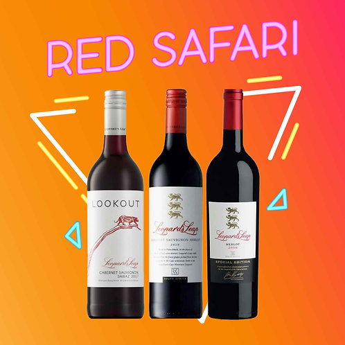 Red Safari - Buy Leopard's Leap Bundle and Save 15%