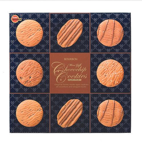 Bourbon Mini Gift Choco Chip Cookies Tin 319g