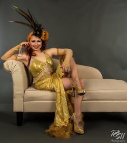 Saturday night Lushes gold costume