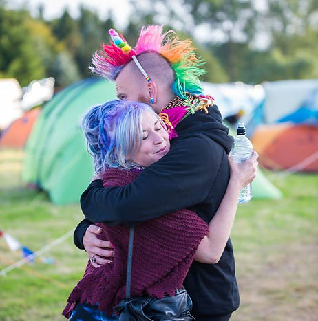 Rainbows Hugging Workshop