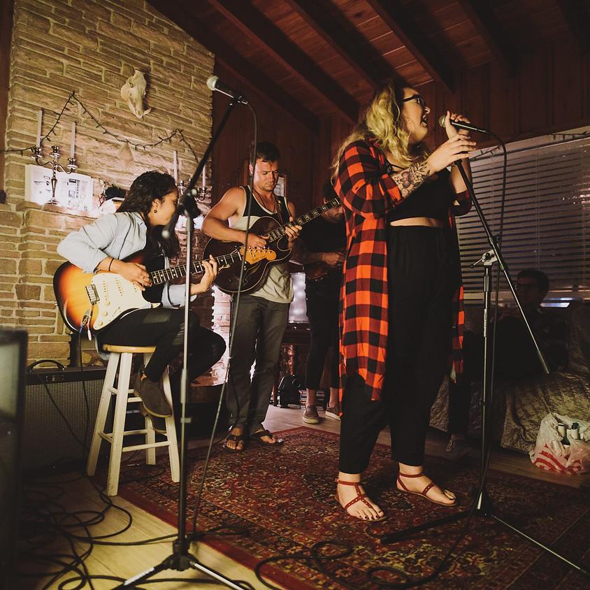 Claudia Sings, Genesis Barrios, Glass Orange, and Rayan