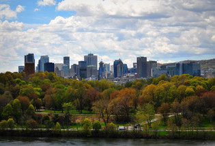 Centre-ville de Montréal Skyline