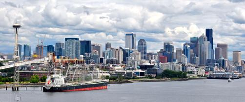 Centre Ville de Seattle Skyline