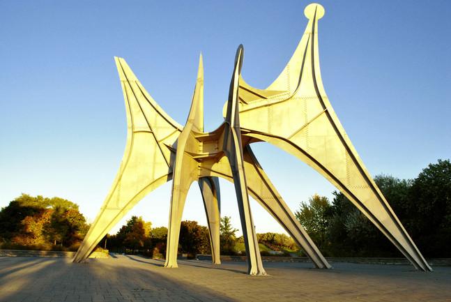 Trois disques - Parc Jean Drapeau Park