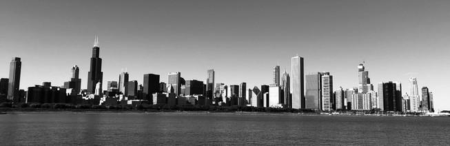 Centre-ville de Chicago Skyline