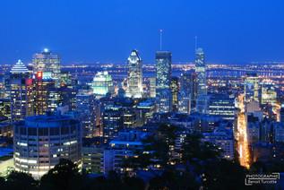 Centre ville de Montréal Skyline