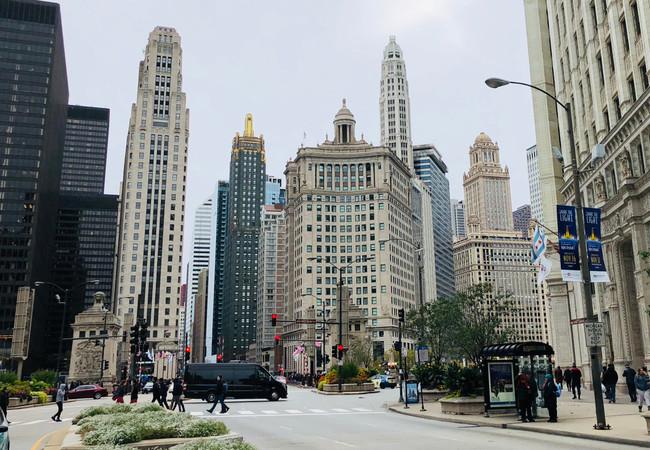 Centre-ville de Chicago Downtown