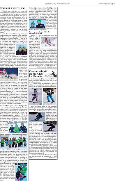 Journal du Pays dEnhaut - 18.02.2016_Pag
